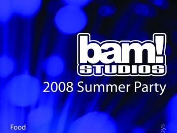 BAM Studios Summer Party 2008