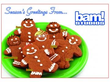 Happy Holidays from BAM Studios!