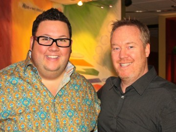 Chef Graham Elliot dishes it up at BAM Studios!