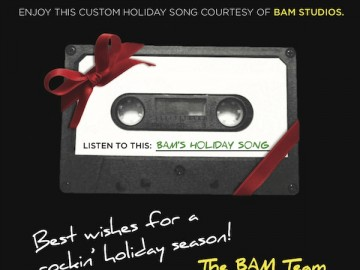 "BAM Studios creates an ""original"" Holiday Song!"