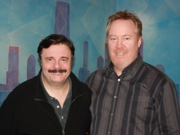 Actor Nathan Lane at BAM for his latest film «The English Teacher»!