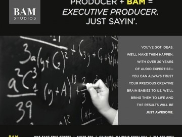 "BAM Studios April 2012 ""Executive Producer"" Ad"