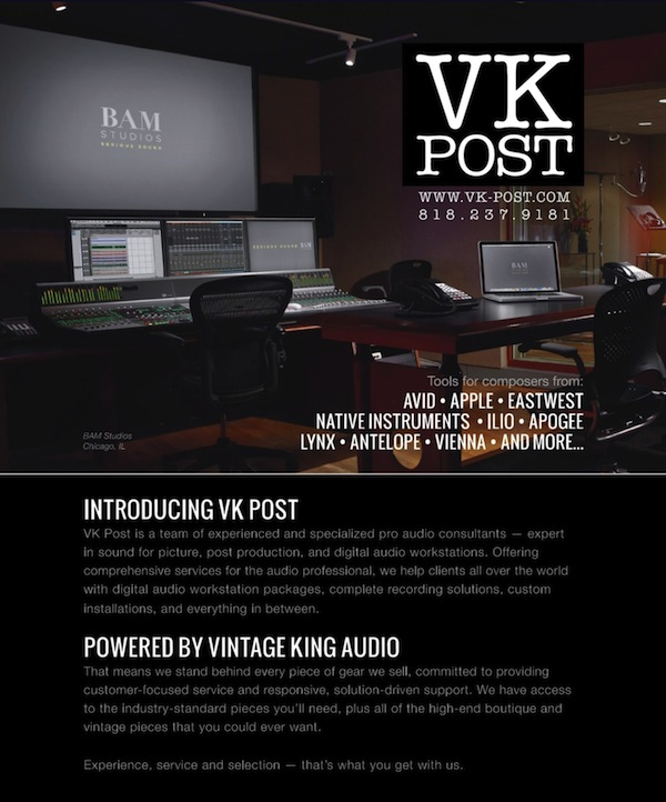 Vintage King Audio showcased BAM's Studio A in their new print campaign for  the latest issue of Mix Magazine. The full page ad in Mix's October issue  ...