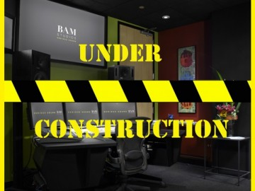 BAM's Studio C is Getting Remodeled!