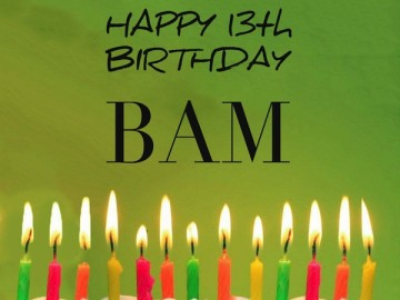 Lookout… BAM's a Teenager!!