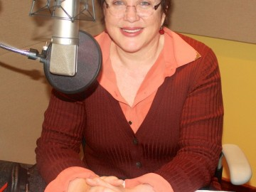 Julia Sweeney Records Her Audiobook at BAM!
