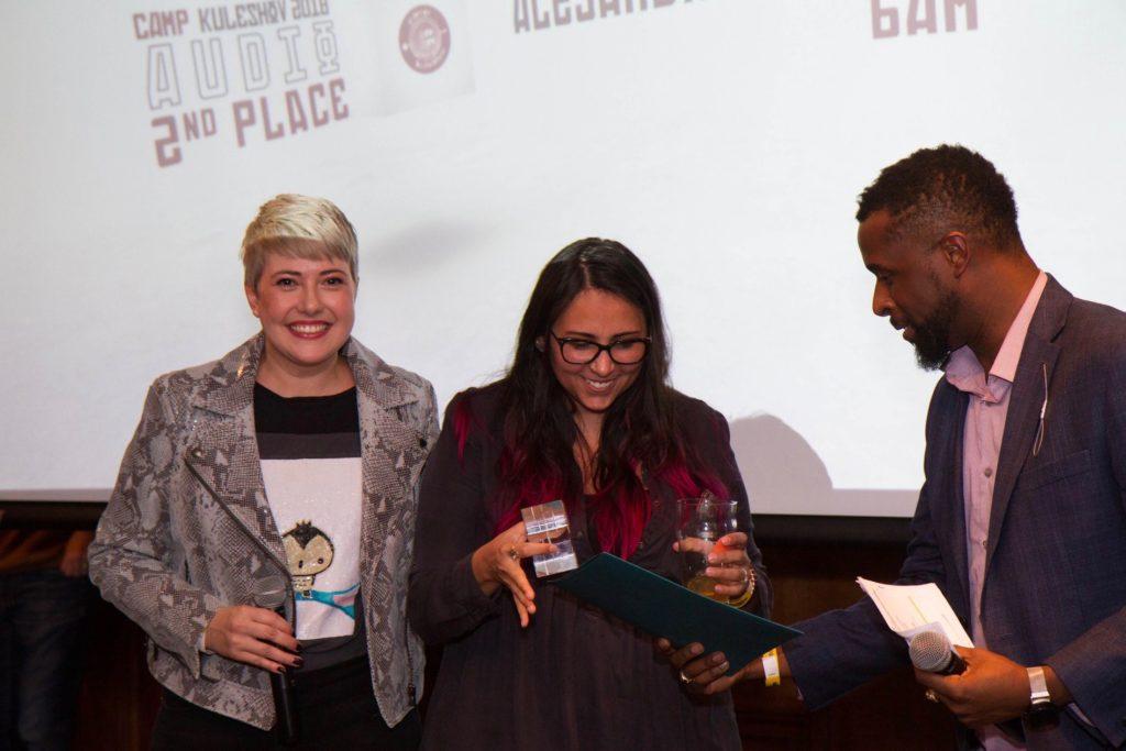 Alejandra León receives AICP Sound Design Award