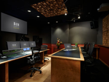 BAM upgrades Studio C with Digidesign's ICON mixing console!