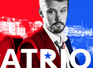 "Amazon's ""Patriot"" premiered TODAY!"