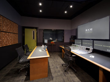 BAM Unveils New ADR Stage at Cinespace!