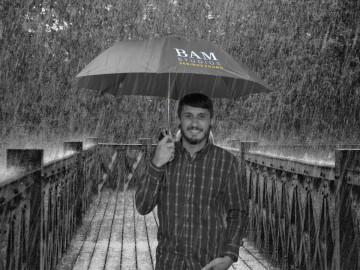 Stay Dry Under BAM's Umbrella!