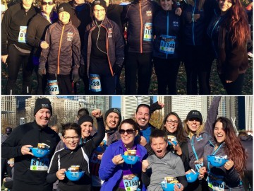 Team BAM Races for the Hot Chocolate Finish Line!