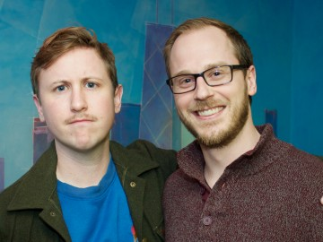 "Johnny Pemberton Records at BAM for Disney's ""Pickle and Peanut""!"