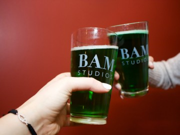 BAM Goes Green for St. Patty's Day!