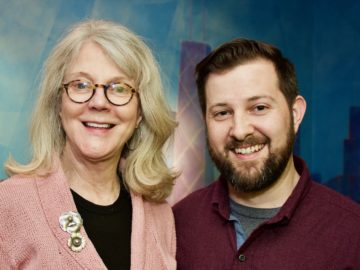 Blythe Danner Records ADR at BAM!