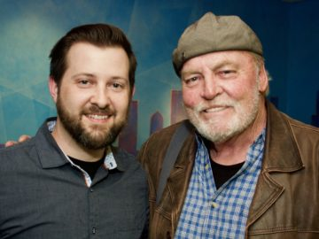 Stacy Keach records VO at BAM!