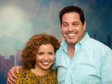 "Justina Machado records ADR for ""Jane the Virgin""!"