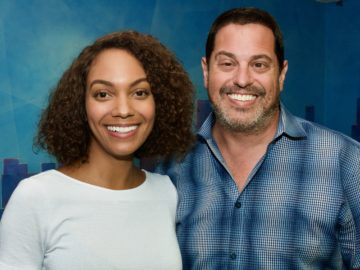 """Lyndie Greenwood records ADR at BAM for """"Flint""""!"""