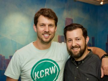 "Jon Heder records VO at BAM for ""Pickle and Peanut""!"