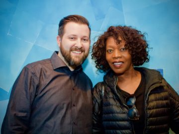 Alfre Woodard recorded ADR at BAM for a Netflix series!