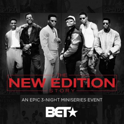 New Edition Story BET
