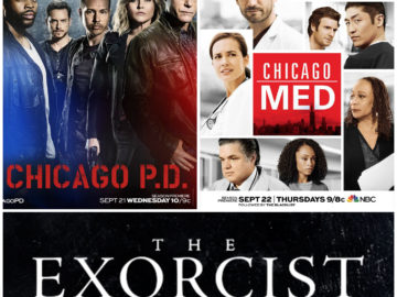 "Premieres: ""Chicago P.D."", ""Chicago Med"" & ""The Exorcist"""