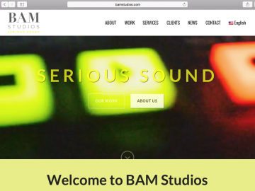 BAM Unveils Website Re-launch!