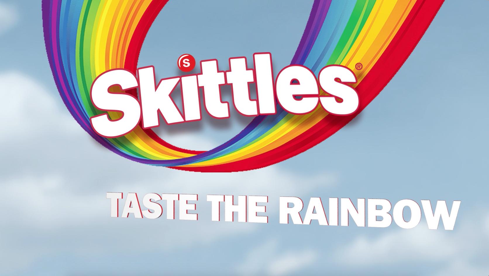 Skittles Brings the Rainbow to BAM! - BAM Studios Skittles Taste The Rainbow Logo