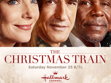 "BAM rides ""The Christmas Train"" with Joan Cusack!"