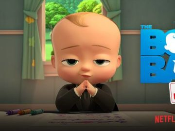 BAM records VO for Netflix's new Boss Baby series!