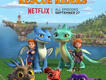 BAM Records VO & ADR for new Netflix series Dragon Rescue Riders